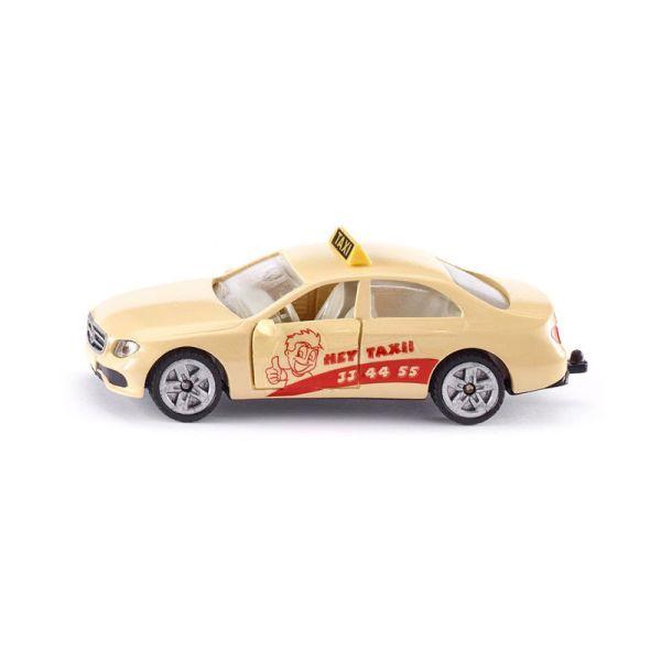 """Siku 1502 Mercedes Benz E 350d """"Hey Taxi!!"""" beige Modellauto (Blister)"""