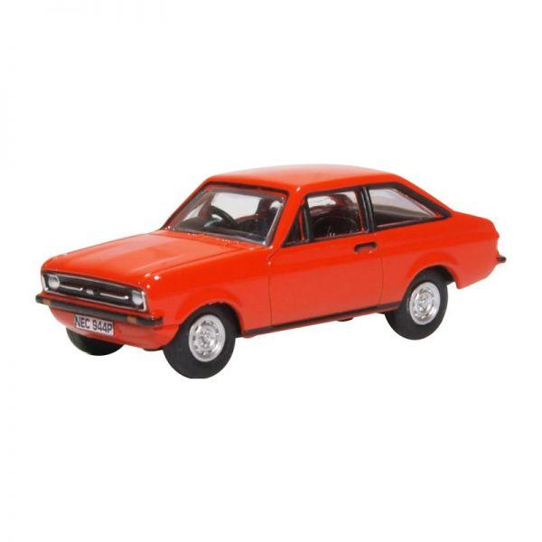 Oxford 76ESC001 Ford Escort MKII rot Maßstab 1:76