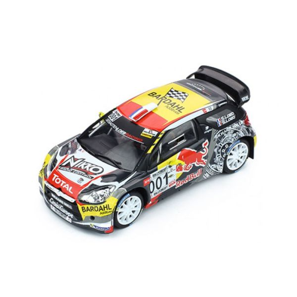 IXO RAM654 Citroen DS3 WRC #001 P. Ricard 2016 Maßstab 1:43