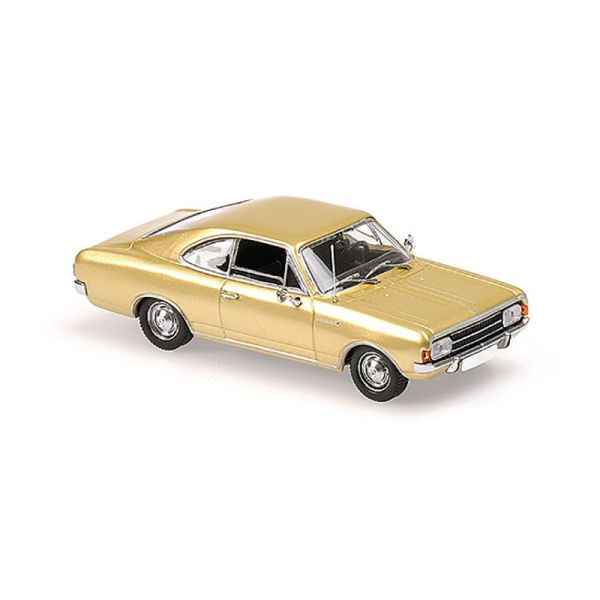 Maxichamps 940046120 Opel Rekord C Coupe gold Maßstab 1:43
