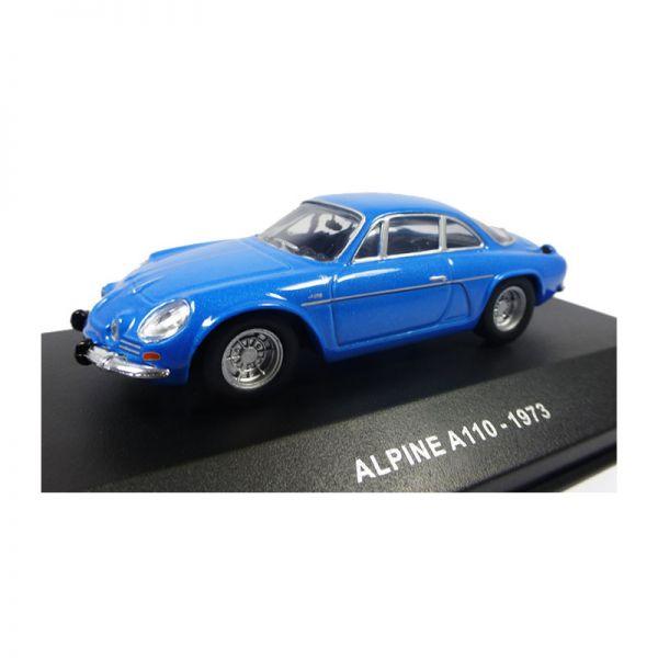 Solido S4304800 Alpine A110 blau Maßstab 1:43