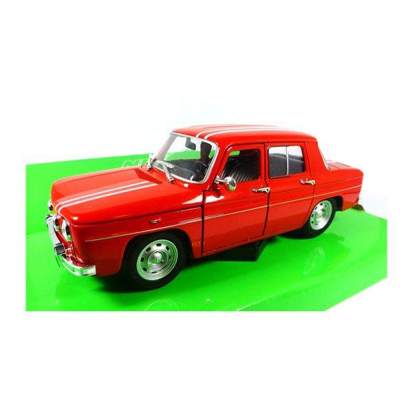 Welly 24015 Renault R8 Gordini rot/weiss Maßstab 1:24 Modellauto