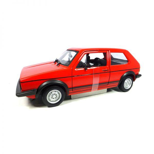 Bburago 21089 VW Golf MK1 GTI rot Maßstab 1:24 Modellauto