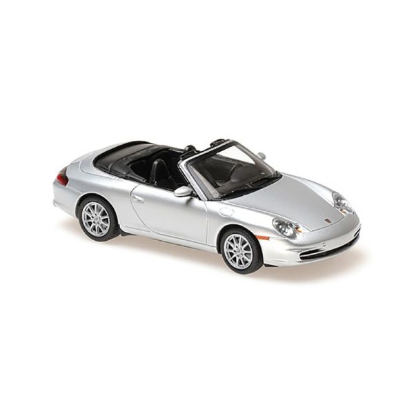 Maxichamps 940061031 Porsche 911 Cabriolet silber Maßstab 1:43