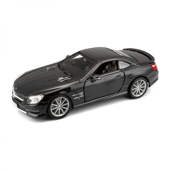 Bburago 21066 Mercedes Benz SL65 AMG Hardtop schwarz Maßstab 1:24