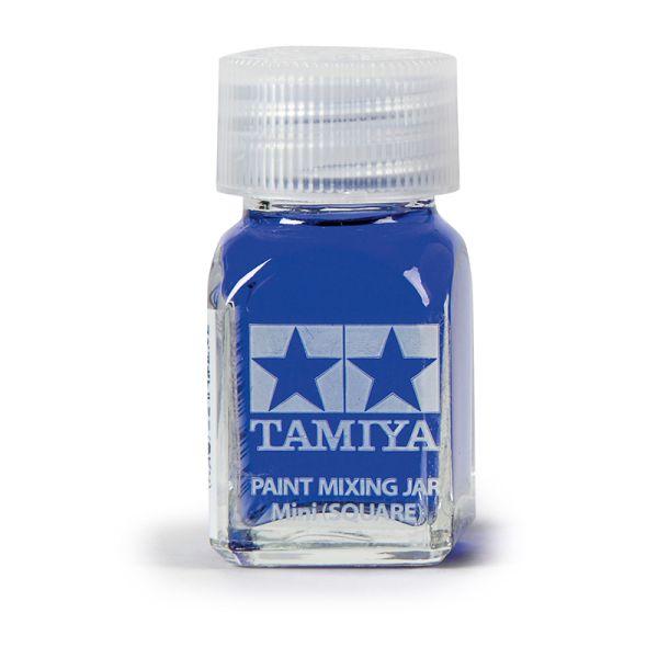 Tamiya 81043 Farb-Mischglas eckig 10ml