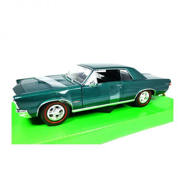 Welly 22092 Pontiac GTO türkis metallic Maßstab 1:24 Modellauto