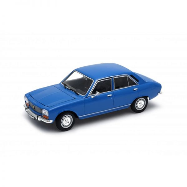Welly 24001 Peugeot 504 hellblau Maßstab 1:24