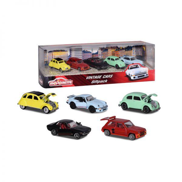 "Majorette 212052013 Geschenkset ""Vintage Cars"" Maßstab 1:64"