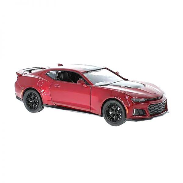 Motormax 79351 Chevrolet Camaro ZL1 rot metallic 2017 Maßstab 1:24