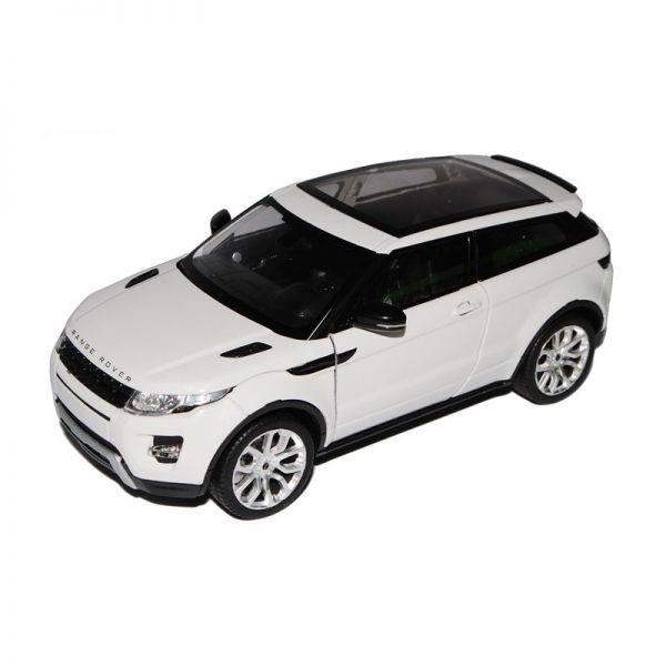 Welly 24021 Range Rover Evoque weiss Maßstab 1:24 Modellauto