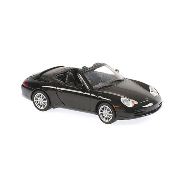 Maxichamps 940061030 Porsche 911 Cabriolet schwarz metallic Maßstab 1:43