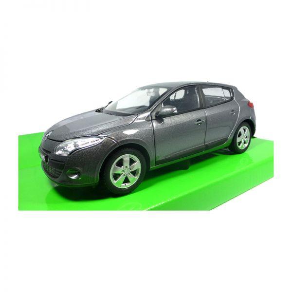 Welly 24006 Renault Megane metallic grau Maßstab 1:24 Modellauto