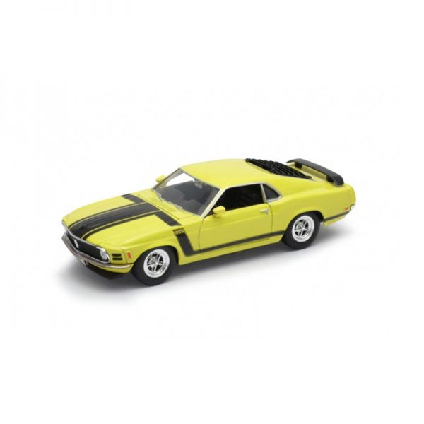 Welly 22088 Ford Mustang Boss 302 gelb Maßstab 1:24
