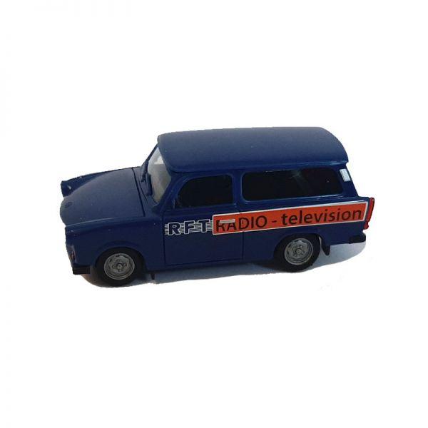 "Herpa 095167 Trabant 601 Kombi ""RFT"" dunkelblau Maßstab 1:87"