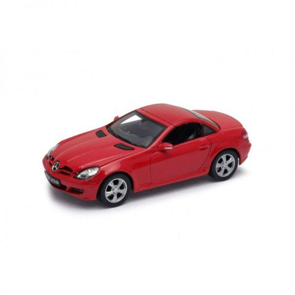 Welly 22462 Mercedes Benz SLK rot Maßstab 1:24 Modellauto