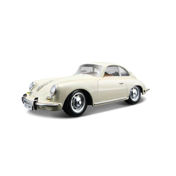 Bburago 22079 Porsche 356 B Coupe creme Maßstab 1:24 Modellauto