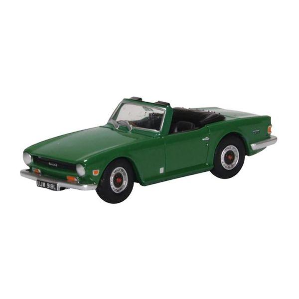Oxford 232892 Triumph TR6 grün Maßstab 1:76