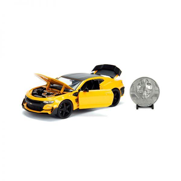 Jada 253115002 Chevrolet Camaro Bumblebee gelb Maßstab 1:24