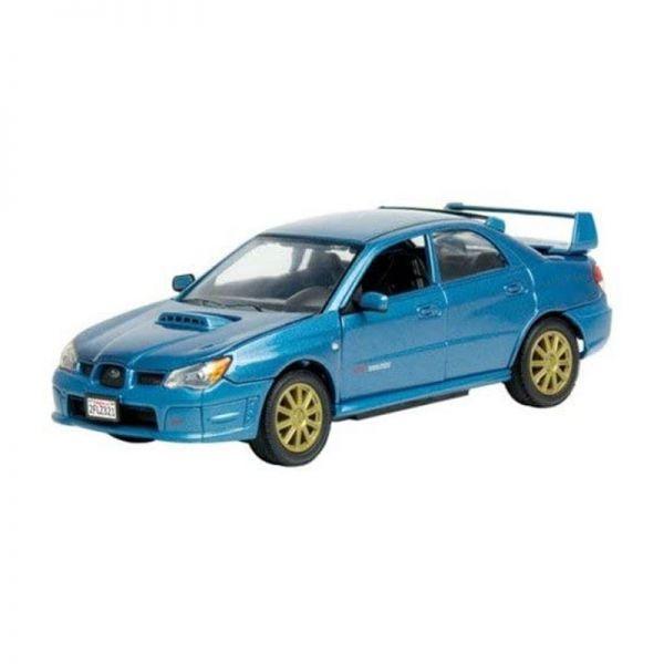 Motormax 73330 Subaru Impreza WRX STi blau Maßstab 1:24