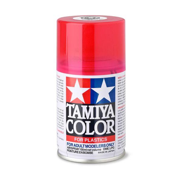 Tamiya 85074 Farbe TS-74 Rot Transparent/Klar glänzend 100ml Spray