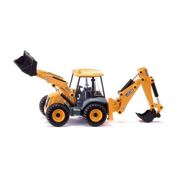 Siku 3558 JCB 4CX Baggerlader orange Maßstab 1:50