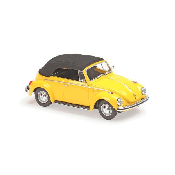 Maxichamps 940055030 VW 1302 Cabriolet gelb Maßstab 1:43