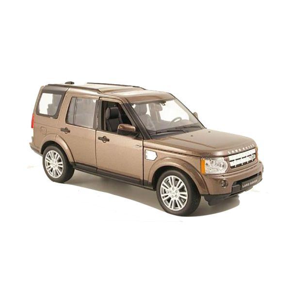 Welly 24008 Land Rover Discovery 4 braun metallic Maßstab 1:24 Modellauto