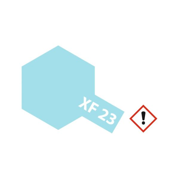 Tamiya 81323 Farbe XF-23 Hellblau matt 23ml