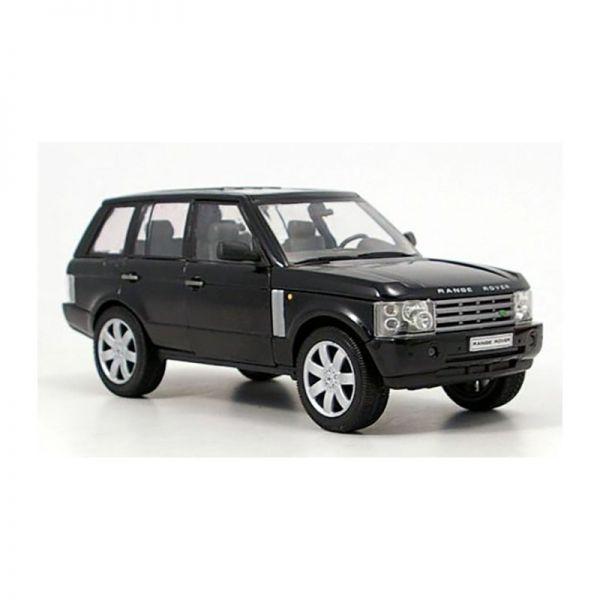 Welly 22415 Range Rover schwarz Maßstab 1:24 Modellauto