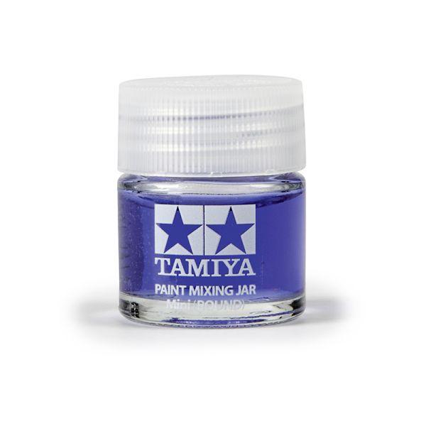 Tamiya 81044 Farb-Mischglas rund 10ml
