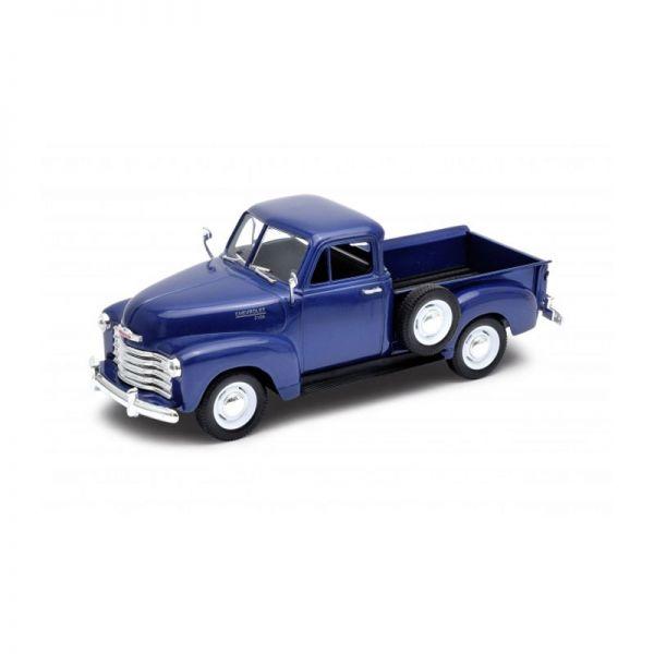 Welly 22087 Chevrolet 3100 dunkelblau metallic Maßstab 1:24