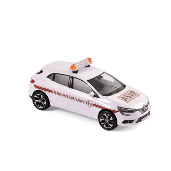 "Norev 517723 Renault Megane ""ASVP"" weiss 2016 Maßstab 1:43"