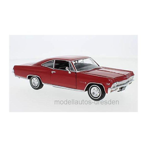 Welly 22417 Chevrolet Impala SS 396 rot Maßstab 1:24 Modellauto