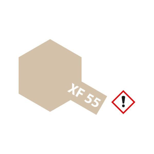 Tamiya 81355 Farbe XF-55 Deck Tan (hellbraun) matt 23ml