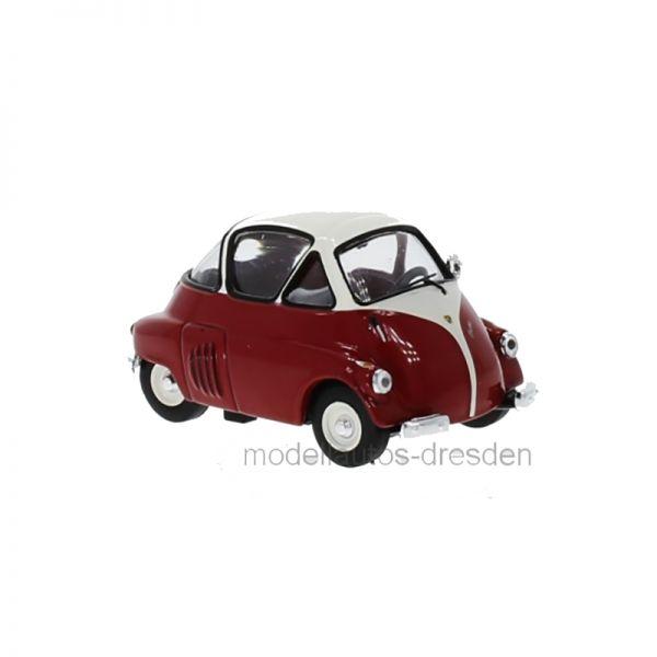 IXO Models CLC312 ISO (BMW) Isetta rot/weiss Maßstab 1:43