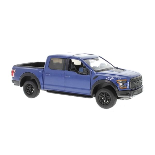Motormax 79344 Ford F-150 Raptor blau metallic 2017 Maßstab 1:24