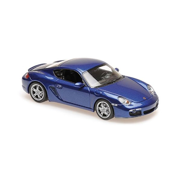 Maxichamps 940065621 Porsche Cayman S blau metallic Maßstab 1:43