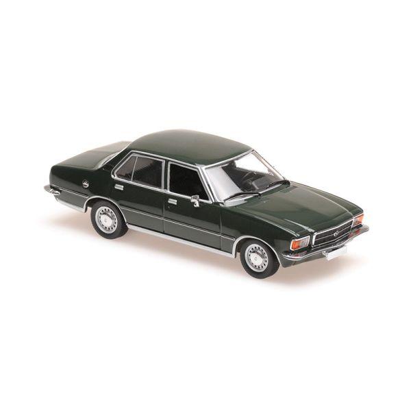 Maxichamps 940044001 Opel Rekord D dunkelgrün Maßstab 1:43