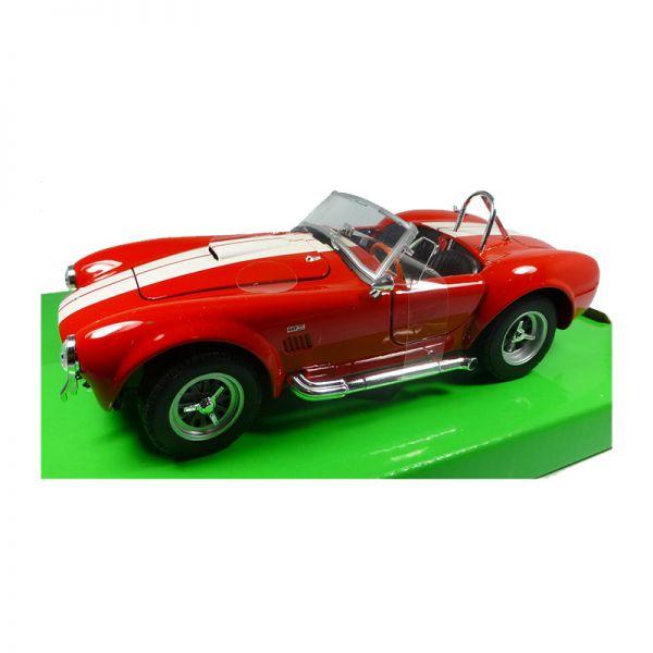 Welly 24002 Shelby Cobra 427 SC rot Maßstab 1:24 Modellauto