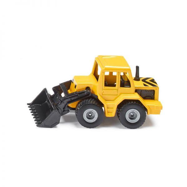 Siku 0802 Frontlader gelb/schwarz (Blister)