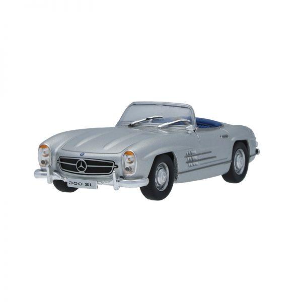 Modellauto B66041067 Mercedes Benz 300 SL Roadster (W198) silber Maßstab 1:43