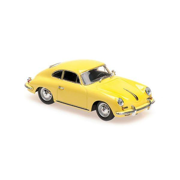 Maxichamps 940064300 Porsche 356 B Coupe gelb Maßstab 1:43