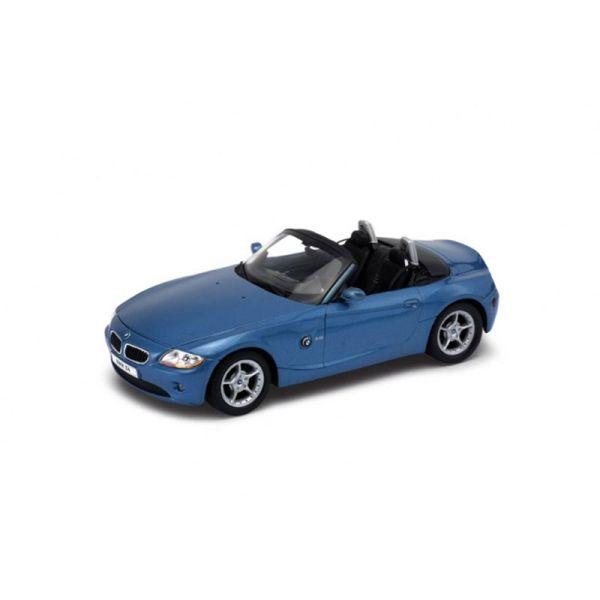 Welly 22421 BMW Z4 Cabriolet metallic blau Maßstab 1:24 Modellauto