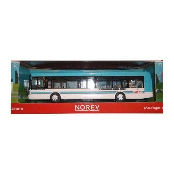 Norev 431010 Irisbus hellblau Modellauto Maßstab 1:43