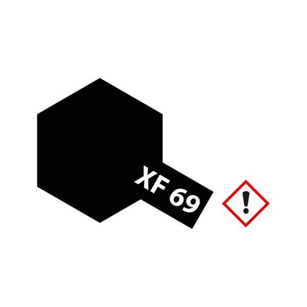 Tamiya 81369 Farbe XF-69 NATO schwarz matt 23ml