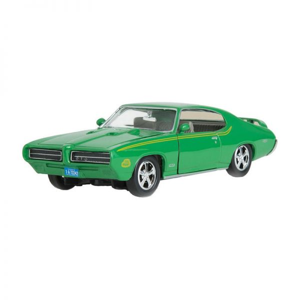 Motormax 73242 Pontiac GTO Judge grün Maßstab 1:24