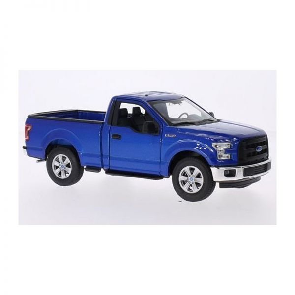 Welly 24063 Ford F-150 Pick-Up metallic blau Maßstab 1:24 Modellauto