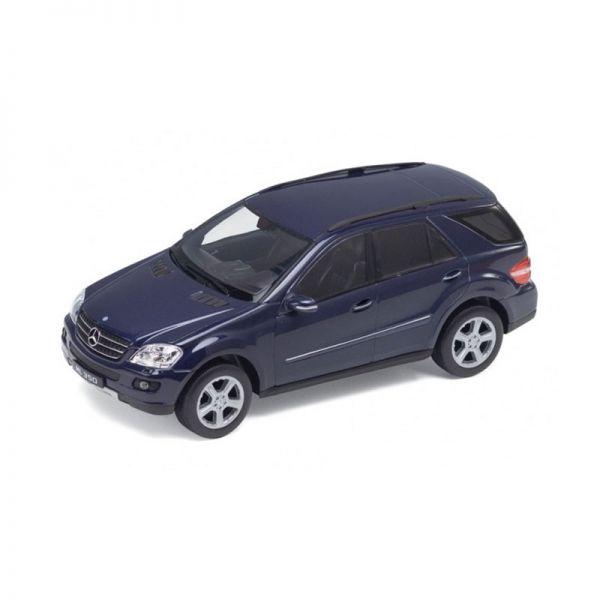 Welly 22480 Mercedes Benz ML 350 (W164) dunkelblau Maßstab 1:24 Modellauto