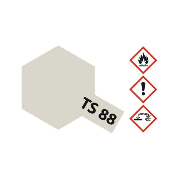 Tamiya 85088 Farbe TS-88 Titan Silber 100ml Spray